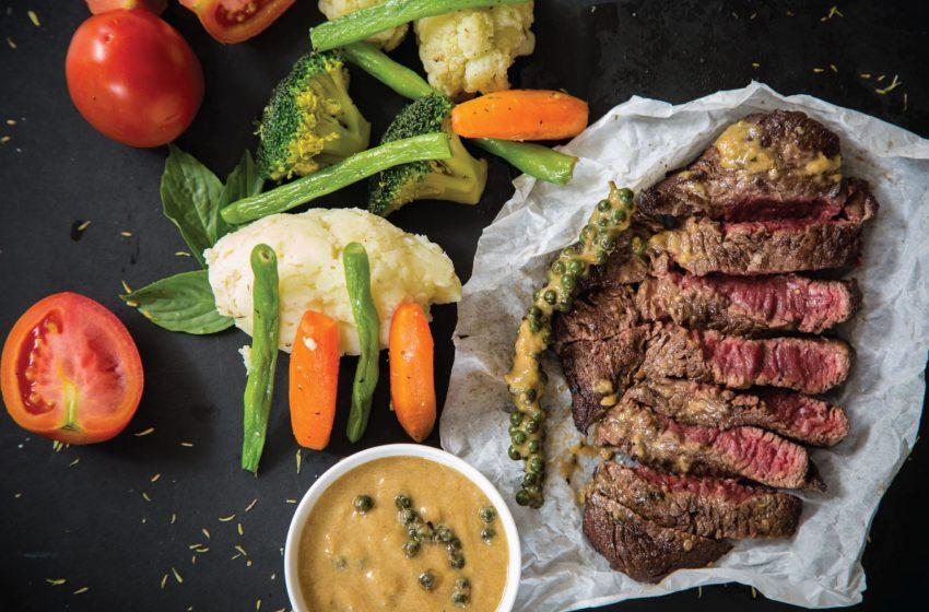Giảm cân bằng cách cắt giảm chế độ ăn thịt