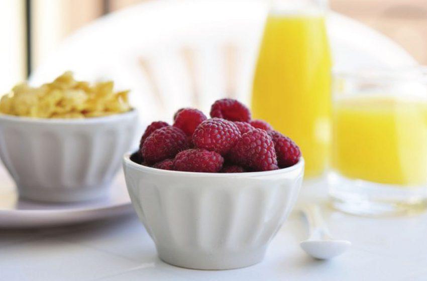 Bữa ăn sáng lành mạnh