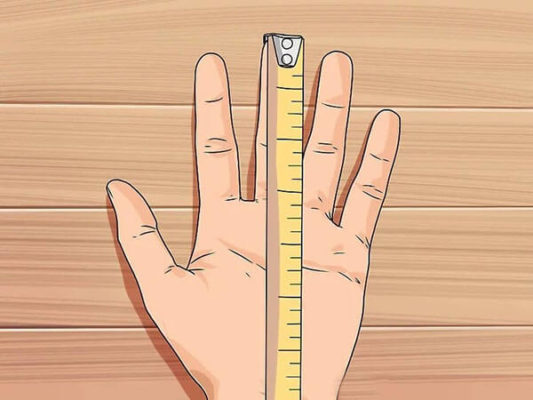 Cách đo bàn tay để mua găng tay tập gym