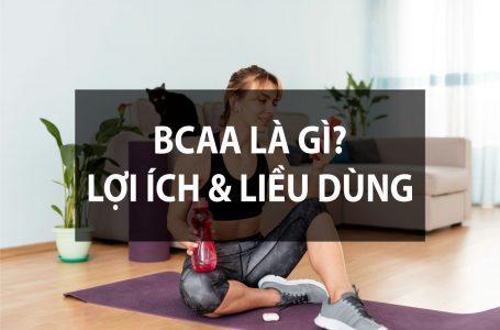 BCAA Là gì – Lợi ích của BCAA – Nên dùng BCAA khi nào?