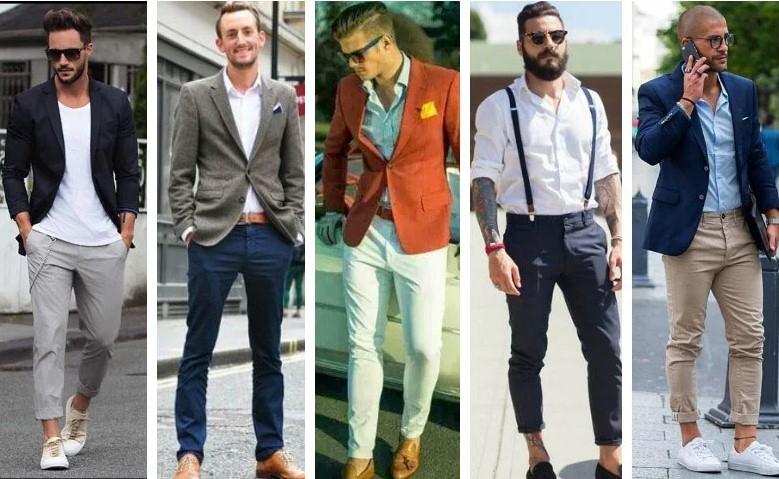 Những chiếc quần chinos vừa vặn, luôn là sự lựa chọn hoàn hảo