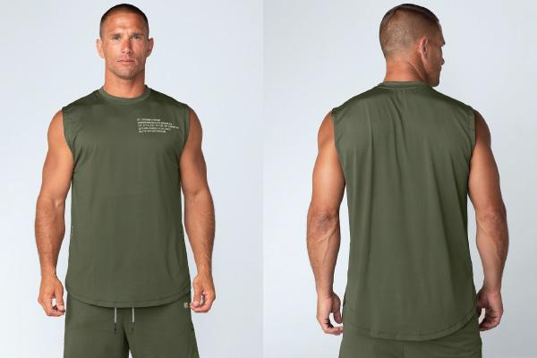 """Đây là một trong những biến thể tốt nhất của """"áo 3 lỗ nam"""" so với các thiết kế truyền thống."""