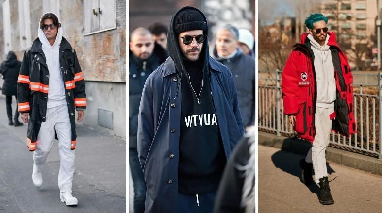 Bảo vệ bạn khỏi gió, mưa và lạnh trong mùa đông này bằng cách kết hợp áo hoodie với áo khoác parka